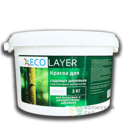 "Краска Садовая ""ECO LAYER"" 3кг (4шт)"